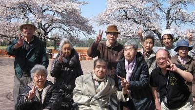 武蔵野中央公園にお花見♪