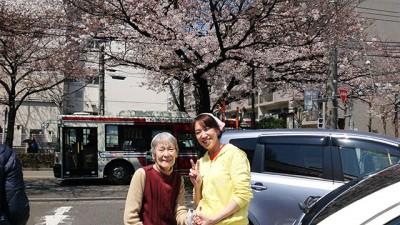 お花見in吉祥寺