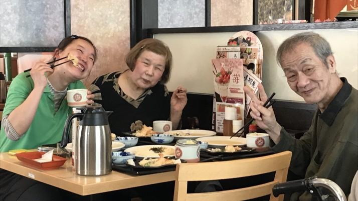 2018お花見イベント 吉祥寺事業所